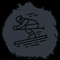 icon-skiing