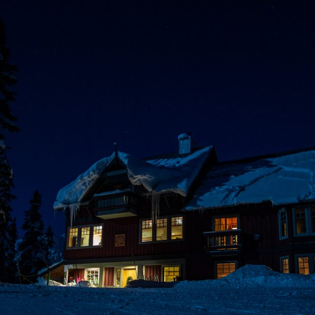 Journeyman Lodge Ski Touring