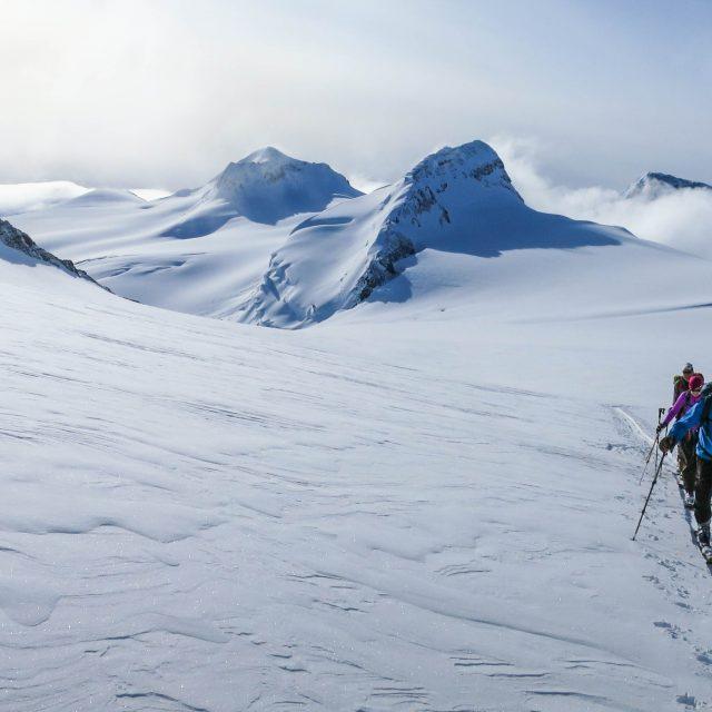 Mt Columbia Ski Mountianeering