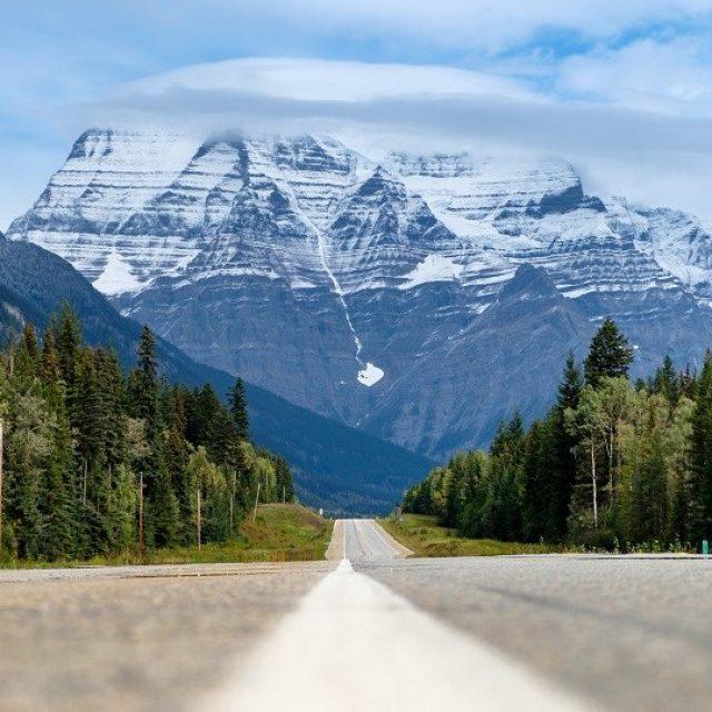 Mt Robson via. the Kain Face