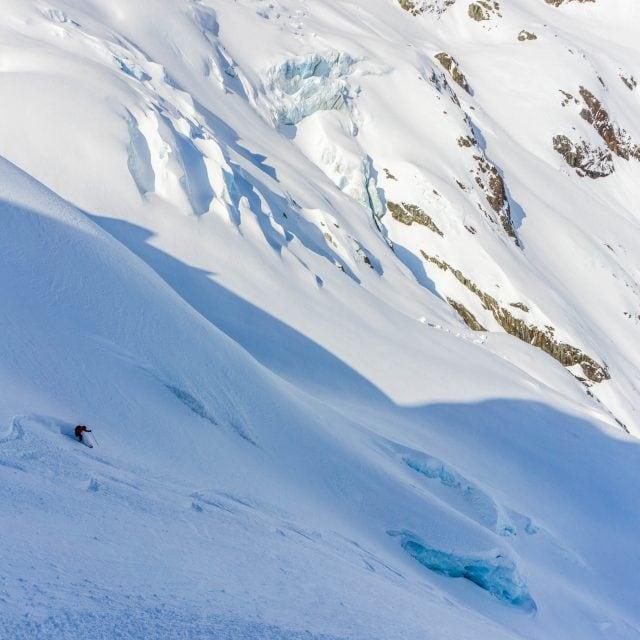 Winter Crevasse Rescue, Glacier Travel