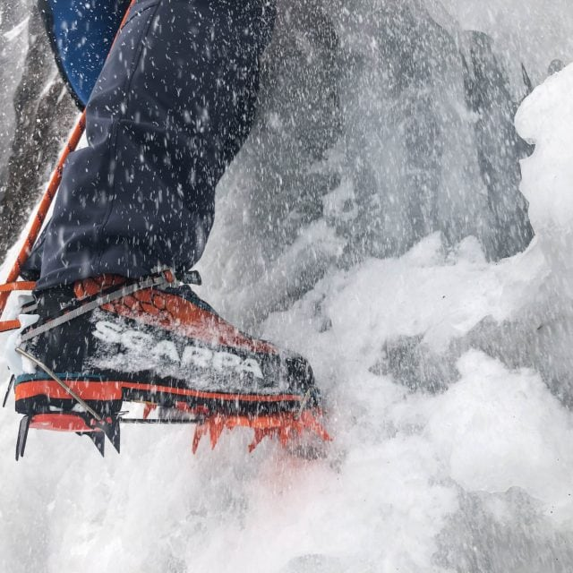 The Coast Climbs the Ghost:  Ice Climbing Camp